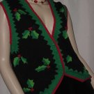 Christmas Vest and Skirt Bechamel Winter sweater top Skirt No. 116