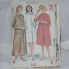 McCall's Sewing Pattern 6099 Misses Robe two lengths pattern  No. 117