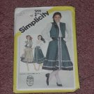 Simplicity pattern Misses Blouse skirt quilted vest Size 12 5191  No. 119