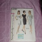 Vintage Simplicity Sewing Pattern 5998 one piece shift dress No. 120