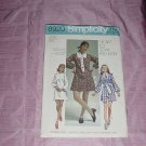 Simplicity Sewing Pattern 8920 Size 12 Bust 34 Young Junior Teens Misses'  No. 120