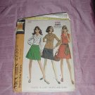 vtg Uncut McCall's 2235 Misses blouse skirts scarf size 8 Bust 31 1/2   No. 120