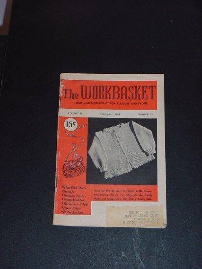 Sewing Basket September 1953