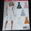 New Look Simplicity Pattern 6589 Summer dress high waist gored skirt  No. 122