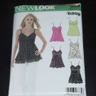New Look summer blouse top pattern 6466 straps high waist  size A 10-22  No. 122