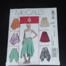McCall's Sewing Pattern Skirt 5110 pattern hem variations size EE  14-20 Uncut  No. 122