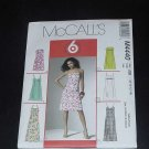 McCalls M4440 Dress two lengths summer pattern  124