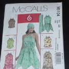 McCalls M5104 Top Tunic Scarf  summer pattern  124