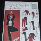 McCalls 4261 Misses jacket tops pants skirt bag Uncut 124