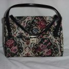 Tapestry purse Vintage Markay tapestry handbag No. 128