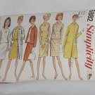 Simplicity Sewing Pattern coat jacket overblouse skirt uncut 6882 Size 8 vintage 1966  No. 60