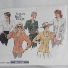 Vogue pattern Uncut 2105 size 6-8-10 Misses blouse No. 129