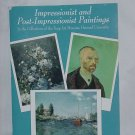 Impressionists post impressionist Fogg Art Museum 24 art cards  No. 130