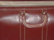 Vintage Leather Doctors bag Travel bag Satchel Tote Lawyer Briefcase Attache case
