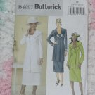 Butterick 4997 Misses Jacket skirt size FF 16-22   No. 133
