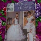 Corset Chemise Petticoat Martha McCain The Fashion Historian Simplicity 5726 Uncut Size 6-12 No. 135