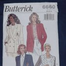 Misses Jacket blazer Butterick size 20-22-24 Uncut No. 136