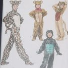 Simplicity Sewing Pattern Costumes Children Wild Cats Gorilla Size A xs,s,m,L 2855 No. 136