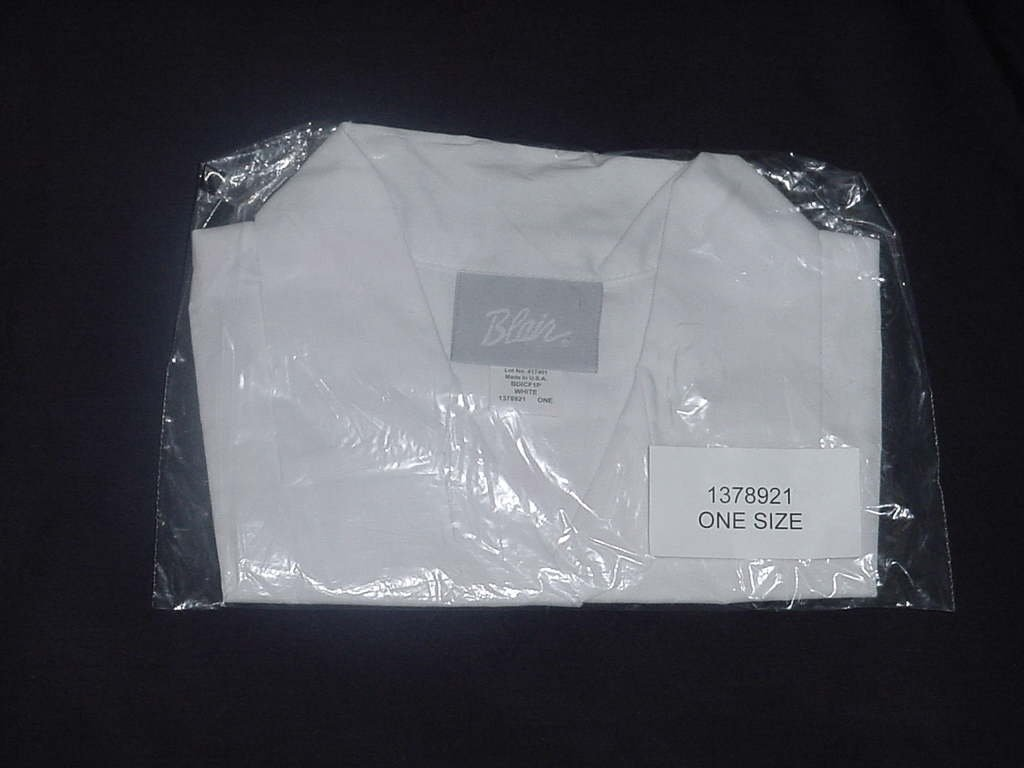 Blair Dickey Ivory One size shirt front  No. 138