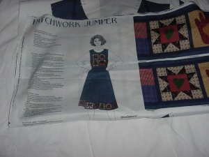 Patchwork Jumper fabric panel Dreamspinners No. 138