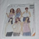 McCalls Pattern 7712 Misses Tops Size E 14-18 No. 138