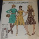 Misses Vintage Simplicity 9547 Basic dress variation skirt bodice size 12 Bust 34  No. 139