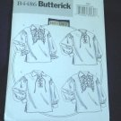 Misses Butterick Pattern Historical Blouse B4486 Size XM SMall Medium Large Uncut No. 139