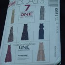 McCalls Pattern 6681 Uncut Misses Dress size E 14-18 No. 139