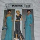 Dress uncut Butterick pattern 4731 EE 14-20 Uncut shrug dress No. 142