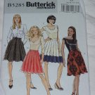5258  Skirt pattern Fast & Easy Misses Skirts Butterick Size AA 6-12 No. 142