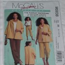 McCalls Pattern 5638 The perfect Wardrobe Classic Fit Palmer Pletsch Jacket Top pants  No. 142
