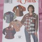 Misses Shirt Appliques 7505 Simplicity Crafts Size Y 18-22 No. 142