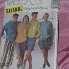 McCalls Pattern 5606 Size Medium Tops Pants Shorts No. 142