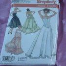 Misses' Simplicity 5006 Lingerie Corset Petticoat Underskirt yoke 6-12 No. 142