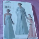 Vogue Evening Dress pattern V8115 Size A  6-10  No. 142