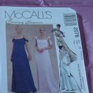 Evening Elegance McCall's 2076 gown empire waist Size 12-16 No. 142