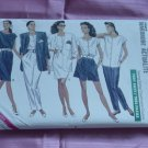 Misses Very Easy Butterick Pattern 6450 Wardrobe Top Skirt shorts pants Jacket Size 12-16 No. 142