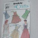 Simplicity 9807 Crafts aprons bib aprons No. 86