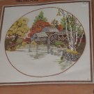 Vintage 1978 Fall Mill Pond Kit  Sunset Stitchery   No. 150