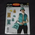 It's so Simplicity 4027 Size !  6-16 Hat Vest Bag  No. 165