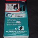 Honeywell Pre-Filters HRF-B2 Air Purifier Replacement Pre-Filters No. 163