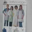 Simplicity 7874 craft aprons Uncut Pattern  No. 165
