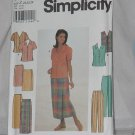 Simplicity 8124 Misses Blouse Skirt Pants Size Z 20, 22, 24  No. 165