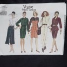 Vogue Basic Design Pattern 1469 Dress Top Tunic Skirt Uncut size (12-14-16) No. 167