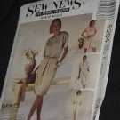 Sew  News 5284 The Fashion Collection Size C 10, 12, 14 Dress Jumpsuit Romper  No. 167