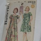 Butterick 9946 Long muu muu Dress size 12 Bust 32 No. 167