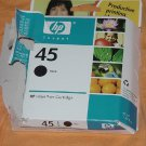 HP 45 inkjet black Ink Cartridge Expiration date March 2007