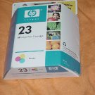 HP 23 inkjet Tri-color Ink Cartridge Expiration date October 2005