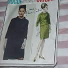 Vogue 1960s Pierre Cardin pattern Vintage 1662 Couturier Design Vogue Paris Original  No. 32