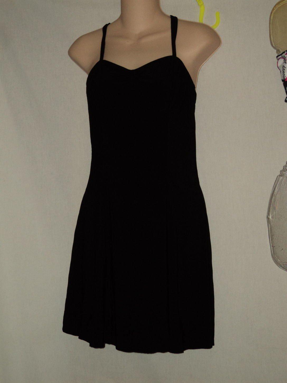 Black MA Dance skirt over leotard Dance Costume Short skirt No. 171